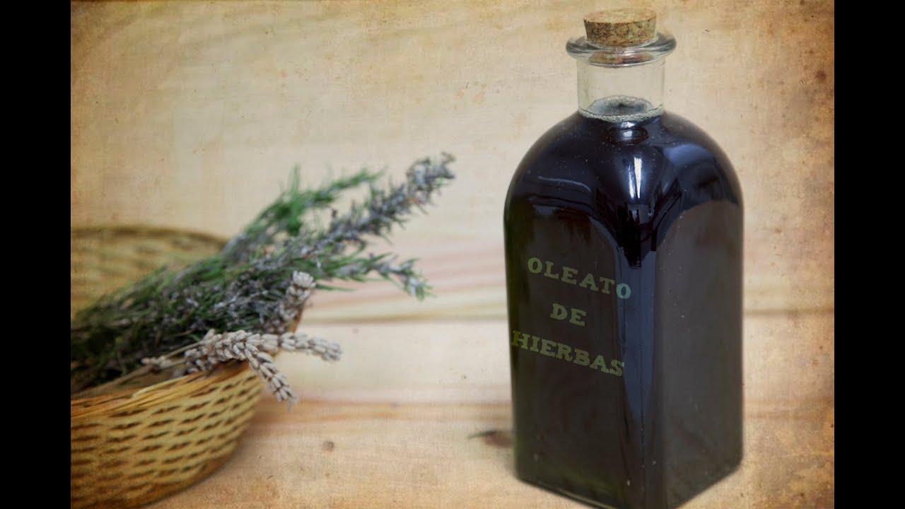 Oleato De Hierbas Aromáticas Aceite De Romero Salvia Tomillo Youtube