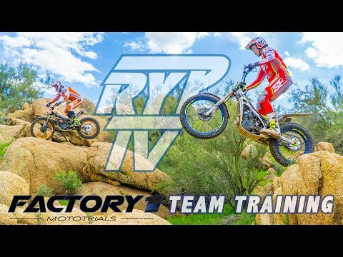 RYP TV: Factory 1 MotoTrials Team Training In Phoenix, AZ