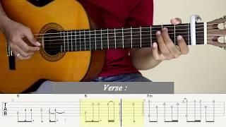 Download Video KEMARIN - Seventeen - Fingerstyle Guitar - Tutorial TAB. MP3 3GP MP4