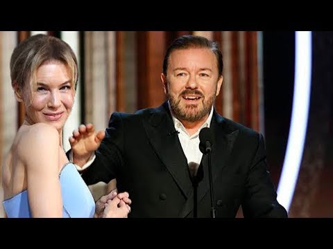 Ricky Gervais Destroyed Renee Zellweger at Golden Globes 2020