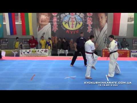 Open Ukraine Cup WKO,  -80kg, Fights To The Semifinals
