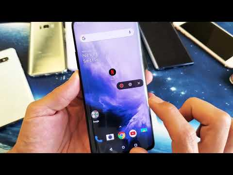OnePlus 7 Pro: How To Use Screen Recorder + Tips (Microphone, Internal Audio, No Audio, Etc)