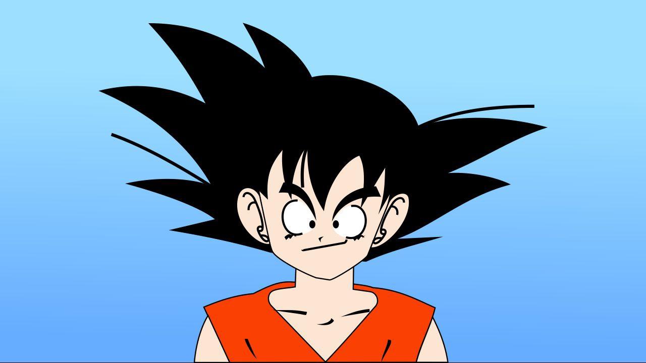 Como Desenhar O Goku Pequeno No Coreldraw X8 How To Draw Goku