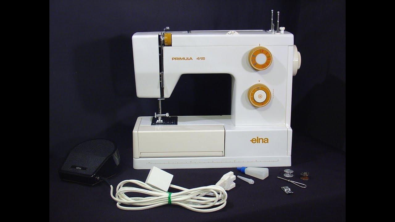 elna primula 415 sewing machine youtube rh youtube com