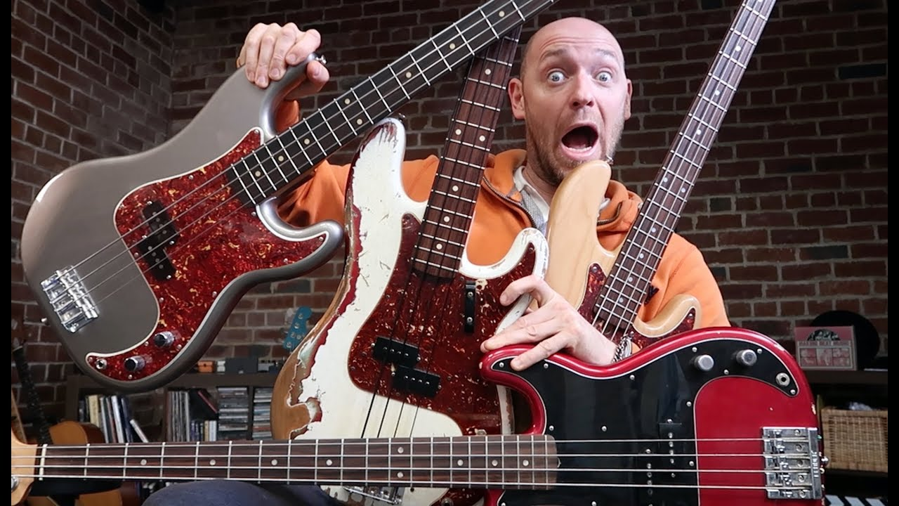 4 Precision Basses    that'll ROCK your world