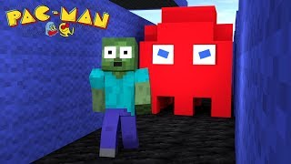Monster School : Pac-Man Challenge - Minecraft Animation