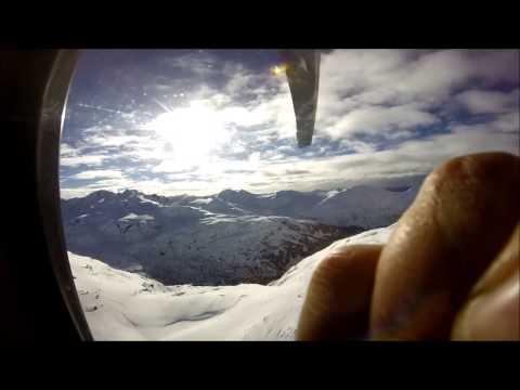 Heliboarding in the Chugach Mountains - Alaska