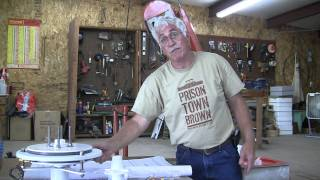 Missouri Wind and Solar shows How To build the Axial Flux generator Air Boss wind turbine