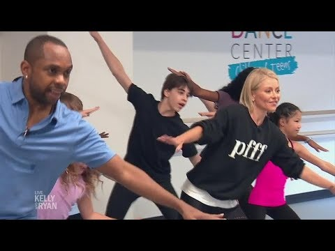Kelly Learns to Tap Dance at the Broadway Dance Center!