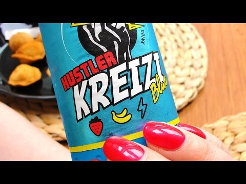 Hustler Kreizi Blue Energy Drink