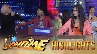 It's Showtime PUROKatatawanan: Vice Ganda stops Zeus from approaching Chienna