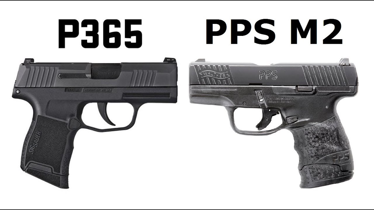 Sig P365 vs Walther PPS M2 with Mrs  Poe Performance!