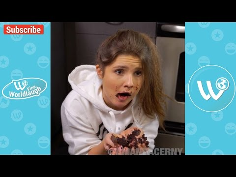 TRY NOT TO LAUGH OR GRIN While Watching AMANDA CERNY Vines & Instagram Videos 2017