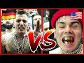 6IX9INE VS. GZUZ l ENGLISH VS GERMAN RAP 2018 l WHO WON?