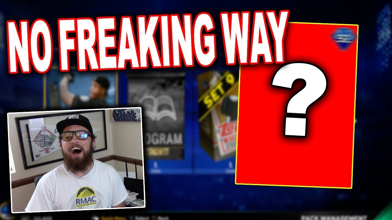 I Got The Best Card You Can Get Diamond Pull Mlb The Show 17 Diamond Dynasty Pack Opening