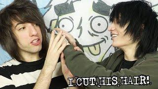 I CUT HIS HAIR! | JOHNNIE GUILBERT