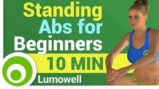 Standing Abs Workout for Beginners