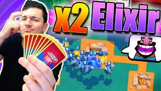 EASIEST DOUBLE ELIXIR MODE DECK?! // Clash Royale