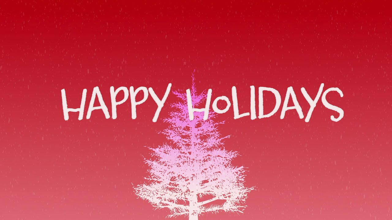 How to Create a Holiday Title Animation in Adobe After Effects
