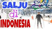Belajar Ski di TRANS SNOW WORLD JUANDA BEKASI Food and Foot
