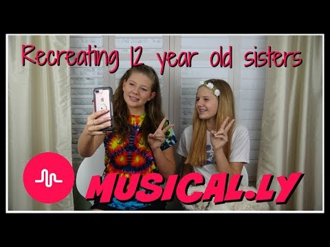 RECREATING 12 YEAR OLD SISTERS MUSICALLY || Taylor and Vanessa