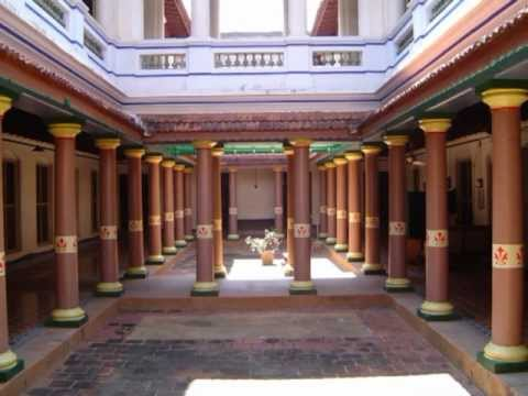 Chettinad heritage palatial houses tamilnadu youtube for Traditional house designs in tamilnadu
