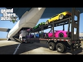 LOADING & HAULING EXOTIC CARS IN A CARGO PLANE! (GTA 5 PC Mods)