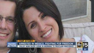 Valley mom arrested in Mexico
