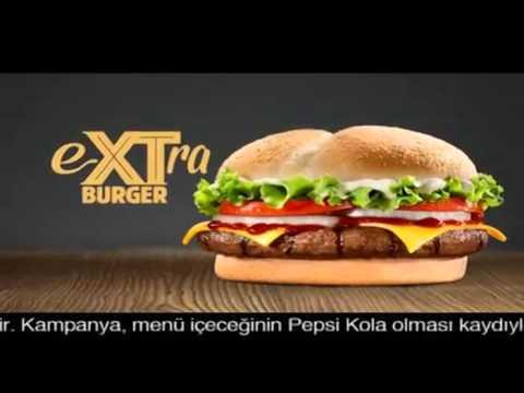Burger King 20 Yil Extra Burger Reklami