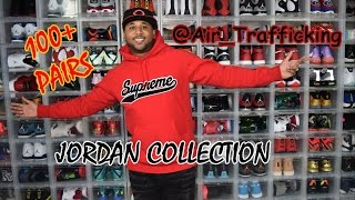 Sneaker Collection 2016 Over 100 Pairs of Jordans @air_trafficking  Sneaker Rotation Collection