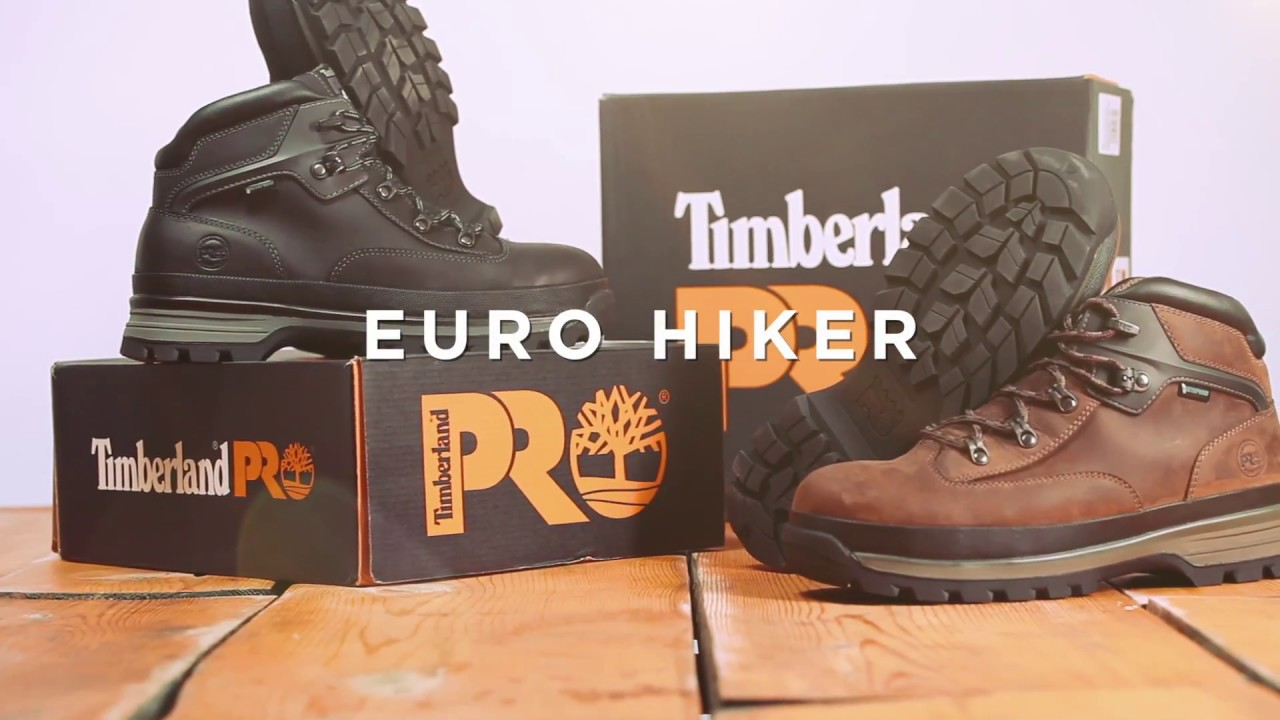 7219df822963 Timberland PRO Euro Hiker - YouTube
