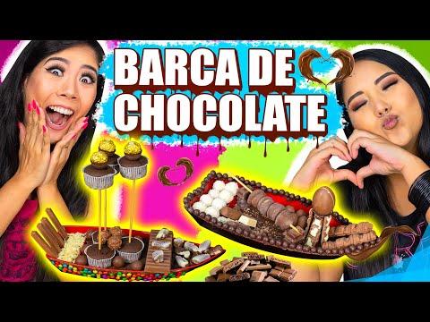 BARCA DE CHOCOLATE CHALLENGE - ESPECIAL PÁSCOA | Blog Das Irmãs