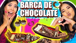 BARCA DE CHOCOLATE CHALLENGE - ESPECIAL PÁSCOA   Blog das irmãs