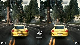 Need for Speed Rivals Final Code: PS4 vs. PC Comparison