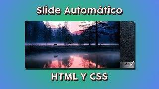 Slide Automático - HTML y CSS