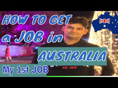 1st Job In Australia | How To Get A JOB In AUSTRALIA COMPLETE GUIDE|  How To Get A JOB In BRISBANE