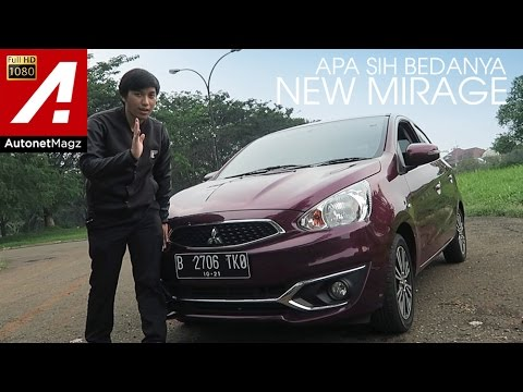 Review New Mitsubishi Mirage & test drive by AutonetMagz