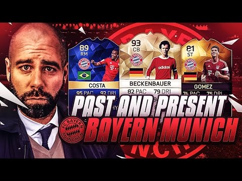 PAST AND PRESENT BAYERN MUNICH SQUAD BUILDER!!!! BUNDESLIGA CHAMPIONS!! FIFA 16 Ultimate Team