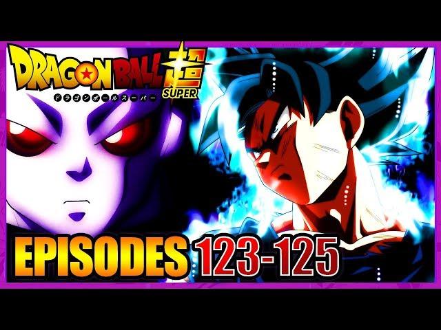 Dbtimes titres et synopsis des episodes 123 124  125 de dragon ball super-lpb 89
