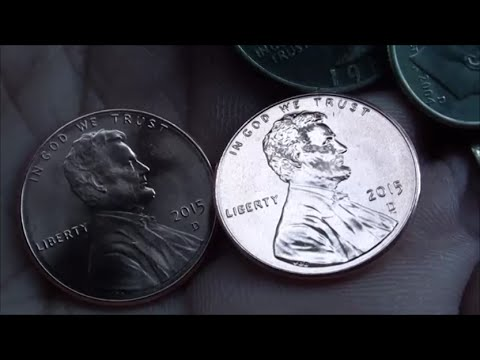 NEW 2015 PENNY Denver Mint Penny JUST FOUND In Pocket Change