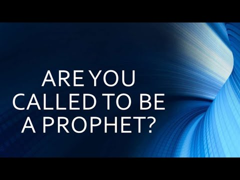 """Nathaniel Wilson """"The Profile of a Prophet"""""""