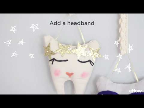 DIY No-Sew Tooth Fairy Pillow