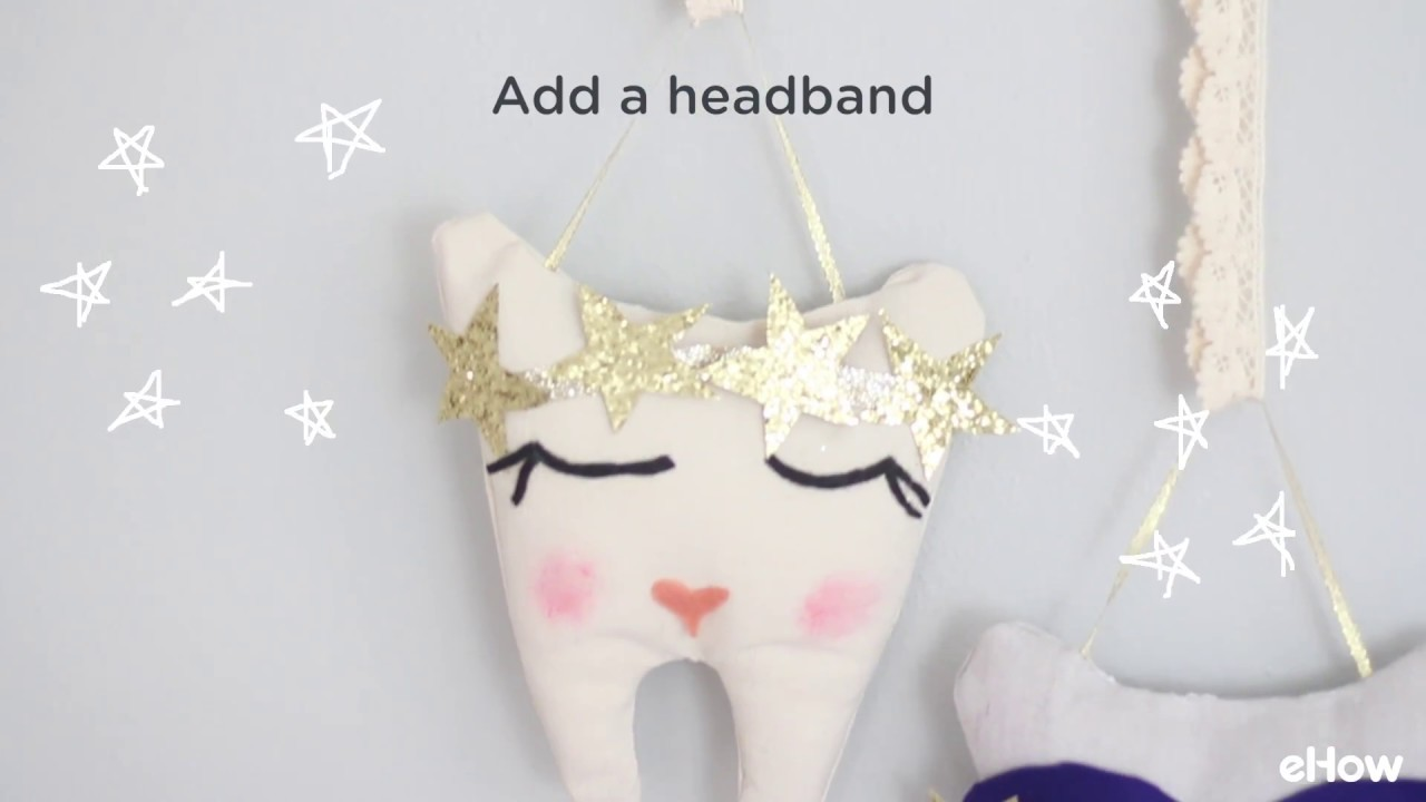 Diy No Sew Tooth Fairy Pillow Youtube
