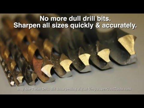 980. Twist Drill Bit Sharpening Jig - Drilling With Sharp Drill Bits