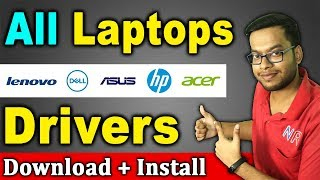 How to Install Driver in any Laptop in Hindi ✔✔ Lenovo/HP/Dell/Asus/Acer all laptop drivers