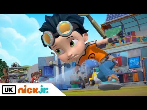 Rusty Rivets | Rusty Gets Stuck | Nick Jr. UK