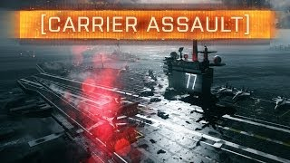 ► BF4 CARRIER ASSAULT TUTORIAL + NEW GUNS! | Battlefield 4: Naval Strike News