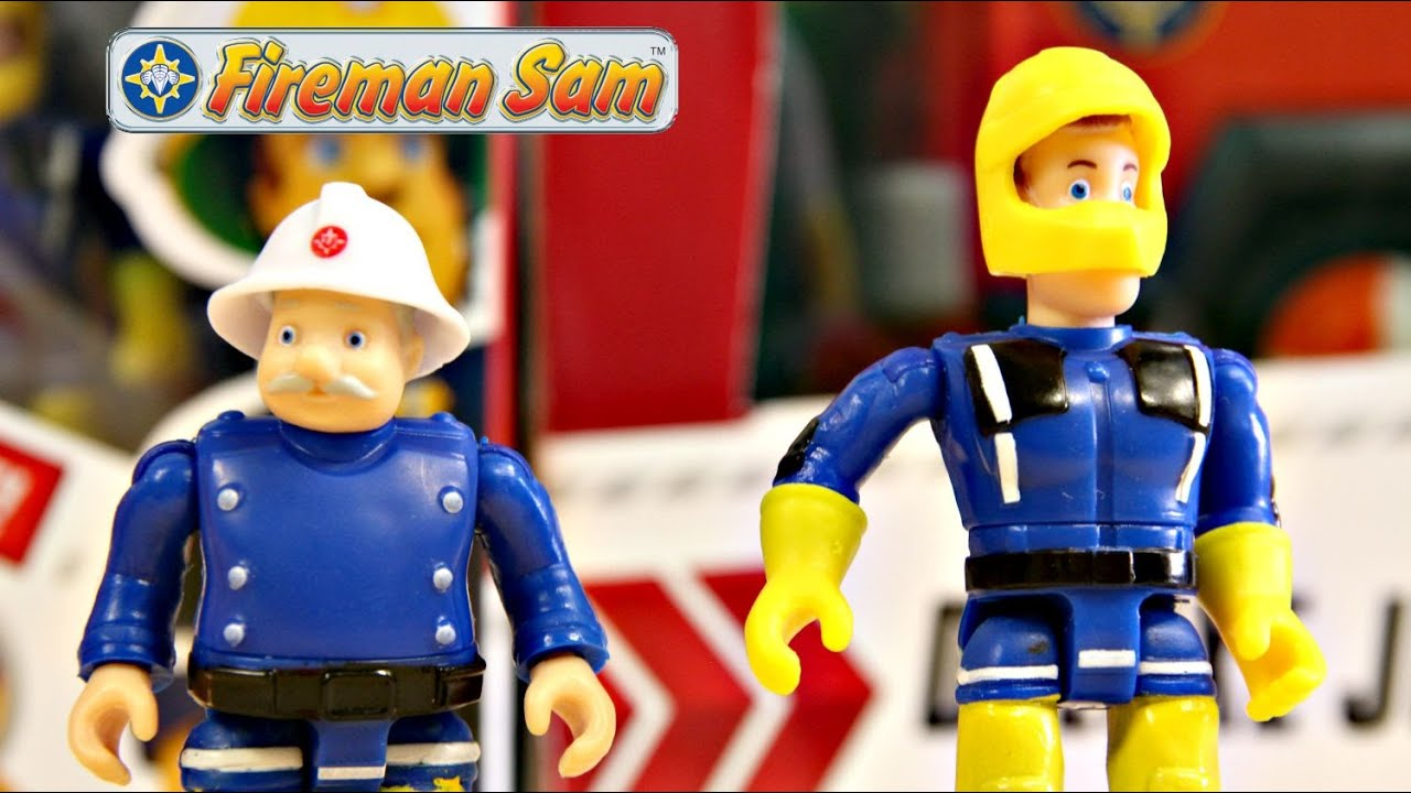 Sam  Officer Steele  Fireman Sam  Straak Sam  Simba