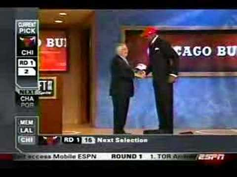 LaMarcus Aldridge drafted number two
