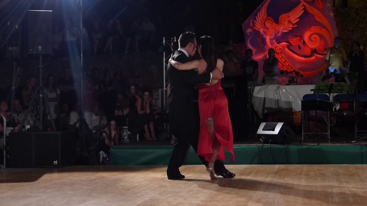 Buscandote Tango Salon Pablo Moyano y Roberta Beccarini - Bormes Les Mimosas 2017